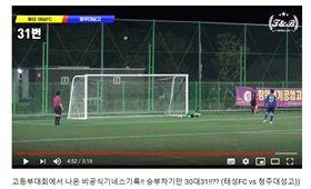 ▲韓國高校足球賽PK大戰狂踢62次。(圖/截自網路)