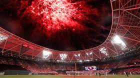 ▲大聯盟首場歐洲季賽在倫敦開打。(圖/取自洋基推特)