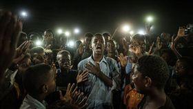 蘇丹首都喀土木(Khartoum)反對軍政府的示威。(圖/翻攝自推特)