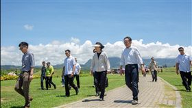 蔡英文總統30日赴台東參訪。(圖/翻攝蔡英文臉書)