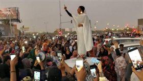 蘇丹,軍政府,抗議。(圖/翻攝自Rihanna推特)
