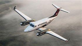 Beechcraft BE-350 King Air雙發動機飛機。(圖/翻攝自Beechcraft官網) https://beechcraft.txtav.com/en/king-air-350i