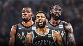 NBA/小喬丹上車!籃網三巨頭成形 NBA,布魯克林籃網,Kevin Durant,Kyrie Irving,DeAndre Jordan 翻攝自推特