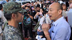 國軍協助高市登革熱噴藥  韓國瑜打氣