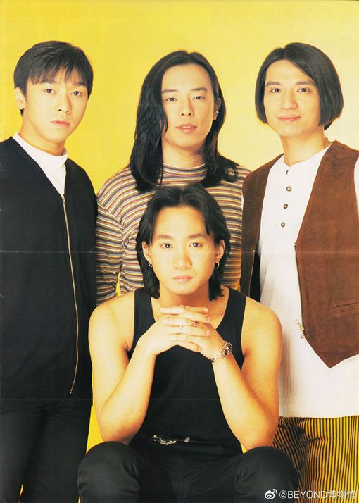 Beyond是華人樂壇上最具代表性的搖滾樂隊之一。 (圖/翻攝自微博)