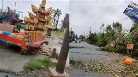 屏東,龍捲風,午後對流,災情 圖/翻攝臉書