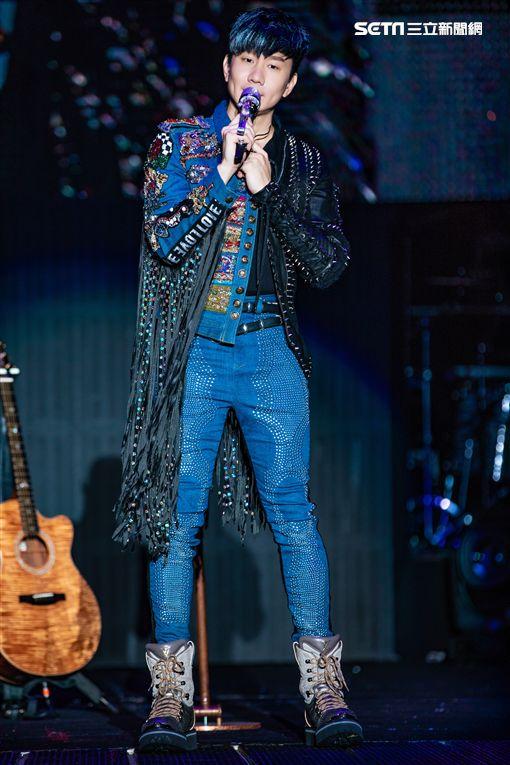林俊傑金曲獎當天晚上在哈爾濱開演唱會。(圖/JFJ Productions提供)