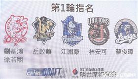 ▲中華職棒選秀會選秀結果。(圖/記者林士傑攝影)