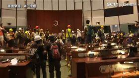 香港,反送中,立法會(圖/AP授權)