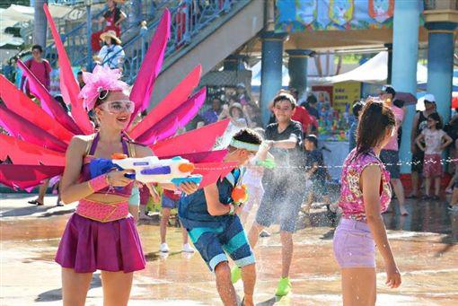 ▲遠雄海洋公園夏日海洋森巴派對(圖/遠雄海洋公園提供)