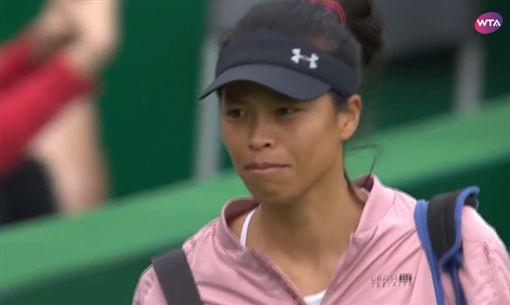 ▲謝淑薇在溫網首輪獲勝。(圖/取自WTA推特)