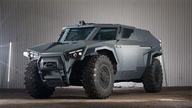 ▲Arquus Scarabee匿蹤軍用輪車。(圖/翻攝網站)