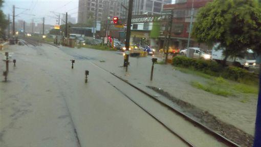 淹水,桃園,大雨,台鐵