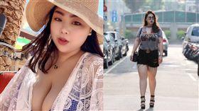 最美胖模,模特兒,肉肉女孩(記者郭奕均攝影、受訪者提供)