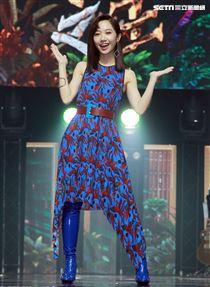 Lulu主持歌唱選秀節目「聲林之王」2。(記者邱榮吉/攝影)