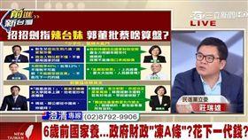 民進黨立委莊瑞雄/前進新台灣