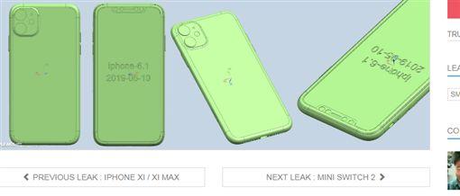 蘋果公司,Apple,iPhone,新機(圖/翻攝自Slashleaks)
