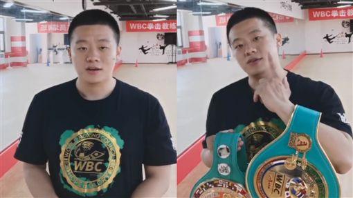 陸「拳擊冠軍」練喻軒約戰館長!嗆聲影片曝光:3分內沒倒算你贏臉書