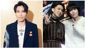 金曲歌王蕭敬騰和林宥嘉擔任「聲林之王」2首席導師。(記者邱榮吉/攝影)、楊宗緯微博