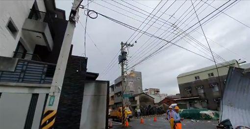 台南,龍捲風,鐵皮,陣風,仁德,停電
