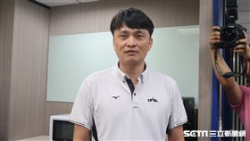 中職秘書長馮勝賢。(圖/記者王怡翔攝影)