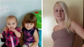 女兒妨礙她賣淫!23歲冷血小模「20天內連殺2女兒」(合成圖/翻攝自Louise Porton臉書)