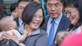 蔡英文,總統,女性,下一代,楊世光 圖/蔡英文臉書