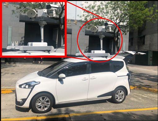 ▲Sienta改裝的偵測車。(圖/環保署提供)