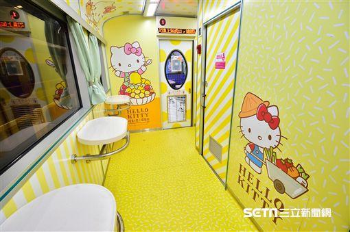 Hello Kitty環島之星列車。(圖/易遊網提供)