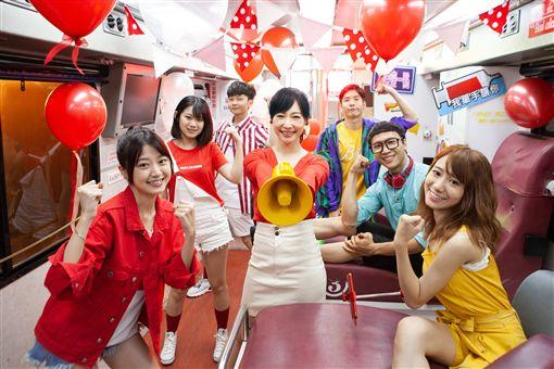▲人氣主播吳宇舒擔任和泰汽車捐血大使。(圖/Toyota提供)