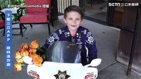 ▲Oliver從小就有著堅定的目標──他想成為一名警察。(圖/AP/ttcreativemedia 授權)