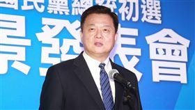 國民黨總統初選國政願景發表會候選人周錫瑋。(記者林士傑/攝影)