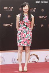 第30屆金曲獎星光大道,蘇郁涵。(記者邱榮吉、林士傑/攝影)