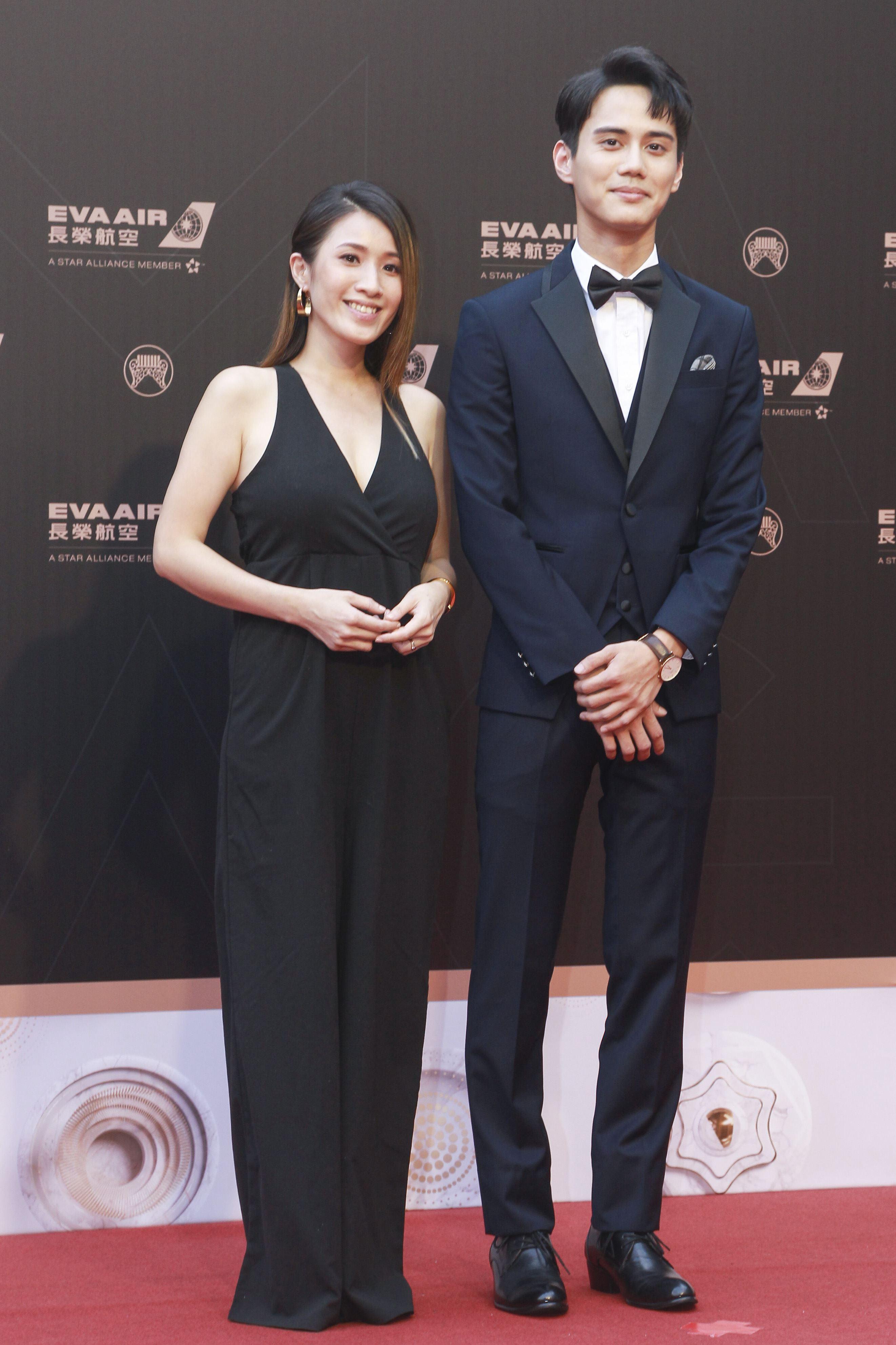 第30屆金曲獎星光大道,鍾潍宇。(記者邱榮吉、林士傑/攝影)