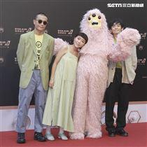 第30屆金曲獎星光大道,Thr Fur.。(記者邱榮吉、林士傑/攝影)