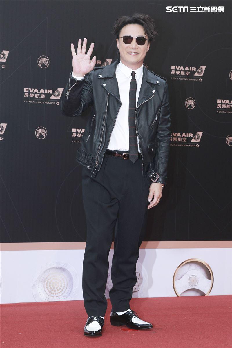 第30屆金曲獎星光大道,陳奕迅。(記者邱榮吉、林士傑/攝影)