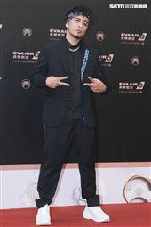 第30屆金曲獎星光大道,Boxing葛西瓦。(記者邱榮吉、林士傑/攝影)