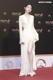 第30屆金曲獎星光大道,李千那。(記者邱榮吉、林士傑/攝影)