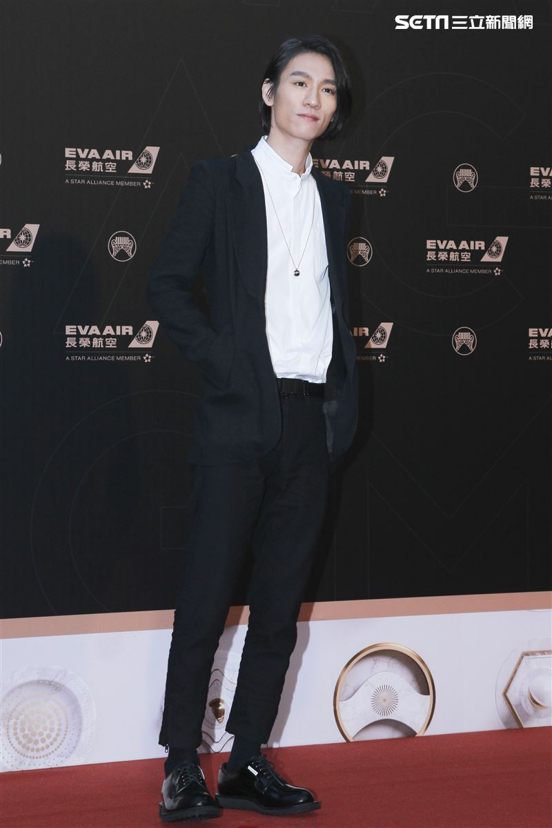 第30屆金曲獎星光大道,柯智棠。(記者邱榮吉、林士傑/攝影)
