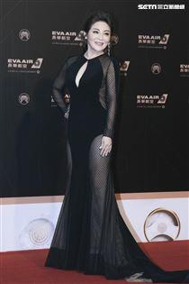 第30屆金曲獎星光大道,王彩樺。(記者邱榮吉、林士傑/攝影)