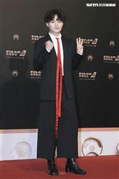 第30屆金曲獎星光大道,許富凱。(記者邱榮吉、林士傑/攝影)