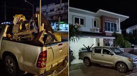 泰國,拾荒老人,資源回收,有錢人,豪宅(圖/翻攝自當事者臉書)