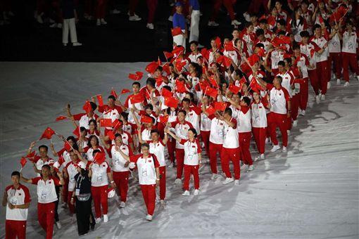 ▲世大運在義大利拿坡里盛大開幕。(圖/FISU提供)