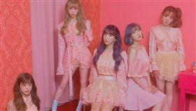 韓流女團《Honey Popcorn》全新五名成員曝光。(圖/翻攝自Honey Popcorn推特)