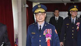 新卸任刑事局長交接典禮,警政署長陳家欽主持。 圖/記者林敬旻攝