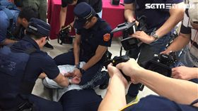 捷運警察隊因自強號旅客持刀刺死警員事件,將進一步強化各項安全作為(翻攝畫面)