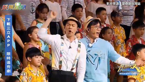 任賢齊驚喜現身奔跑吧 率領200人合唱超震撼!