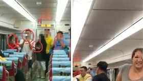 鐵路勇警「肉搏被捅肚」 乘客拿手機開直播…兩派網友戰翻(合成圖/翻攝自葉毓蘭臉書、NPA 署長室臉書)