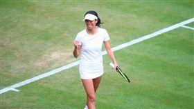 溫網,女雙,謝淑薇,晉級(圖/翻攝自Wimbledon臉書)