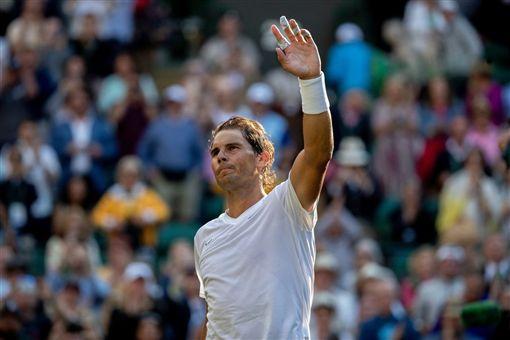 溫網,西班牙,蠻牛,納達爾(Rafael Nadal)(圖/翻攝自Wimbledon臉書)